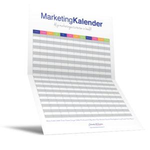 Marketing kalender
