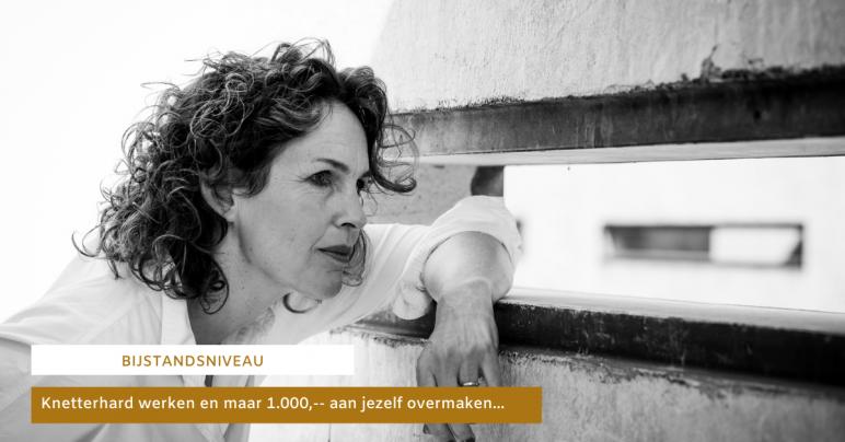 Jolanda kijkt het aan en ziet veel ondernemende vrouwen niet meer verdienen dan bijstandsniveau